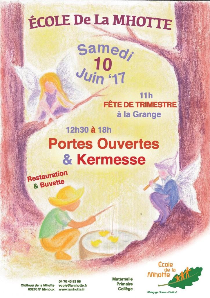 Portes Ouvertes & Kermesse @ Ecole de la Mhotte | Saint-Menoux | Auvergne-Rhône-Alpes | France